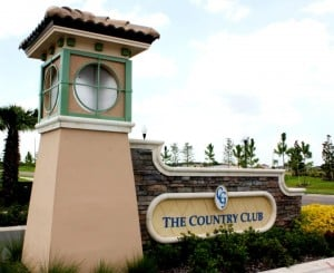 ChampionsGate, The Country Club Entrance