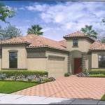 The Bugalow Floor Plan at ChampionsGate, Orlando Florida