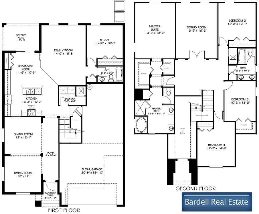 Monte Carlo Floor Plan At Championsgate Bardell Real Estate