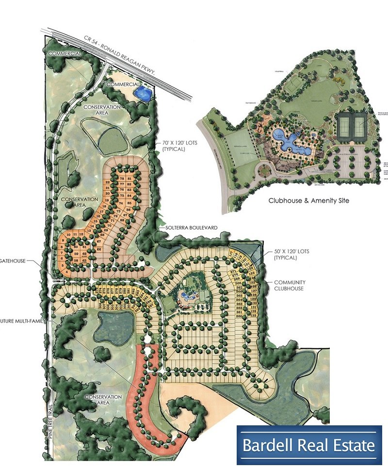 Solterra Resort Site Map - Davenport, Florida on