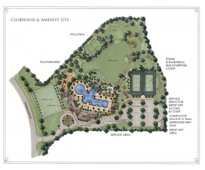 Solterra Resort Amenity Map