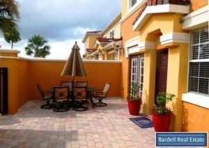 Courtyard view at Waterstone Courtyard Villas, Orlando Florida