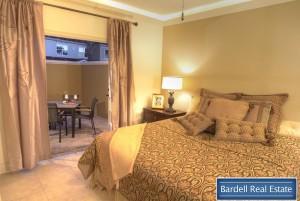 Monaco master bedroom at Waterstone Courtyard Villas