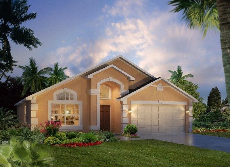 Resort Elevation Plan : Beach palm floor plan at watersong resort