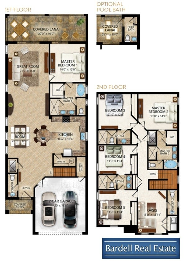 Berkley floor plan at reunion west bardell real estate for Floor plans real estate