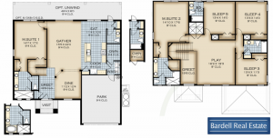 Solana Floor Plan at Watersong Resort