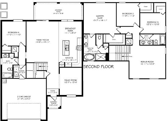 Mayflower Floor Plan At Lakeside Villas