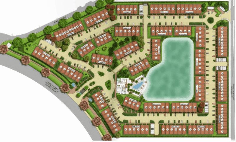 Magic Village Resort Site Map