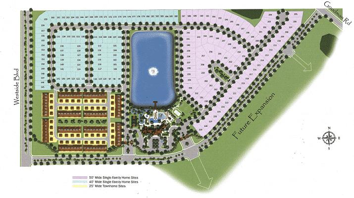 Windsor at Westside Site Map
