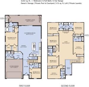 Baymont Floor Plan, Windsor at Westside