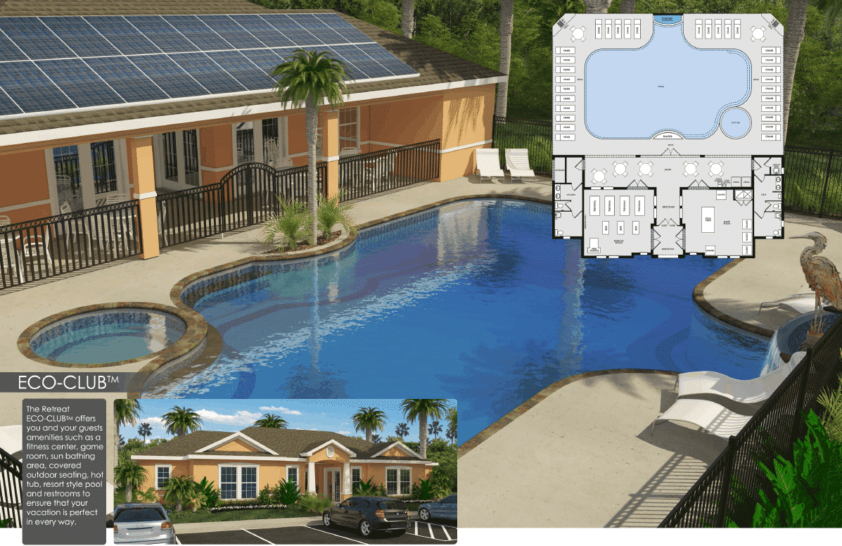 Dream by zenodro homes clermont florida for Florida pool show 2015