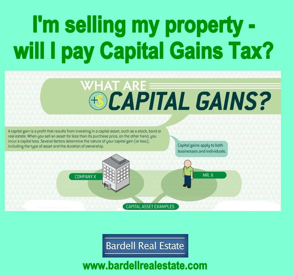 Capital Gains Tax For Rental Property Sale