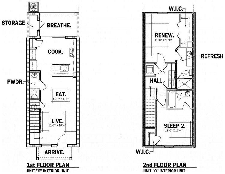 naples floor plan at the towns at legacy park