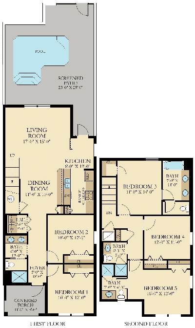 The retreat at championsgate for The retreat floor plans