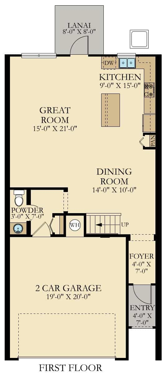 Azalea Floor Plan At Storey Lake
