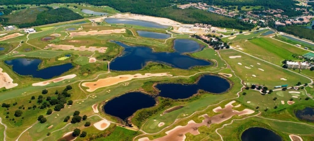 ChampionsGate Golf Aerial