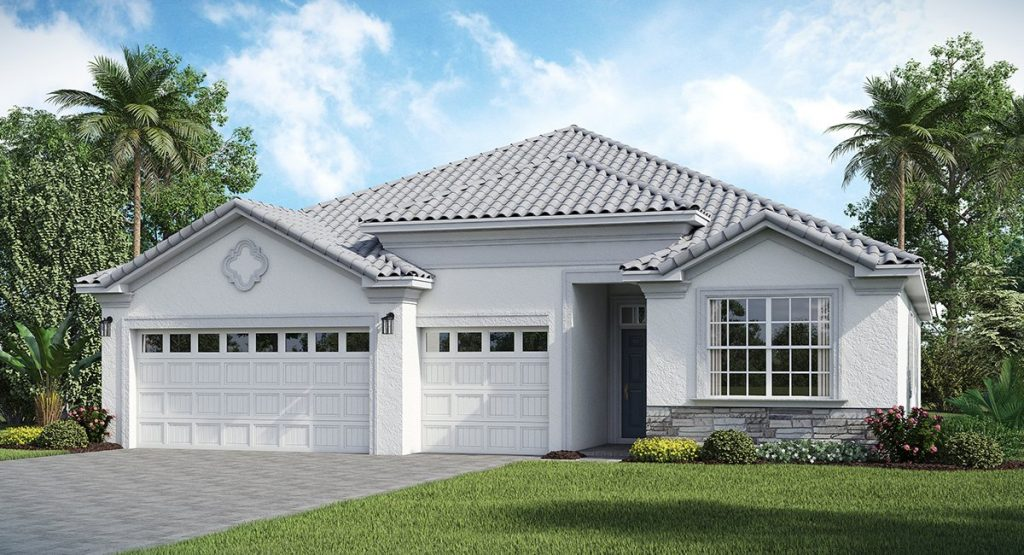 Country Club - Kennedy Floor Plan in ChmapionsGate Florida