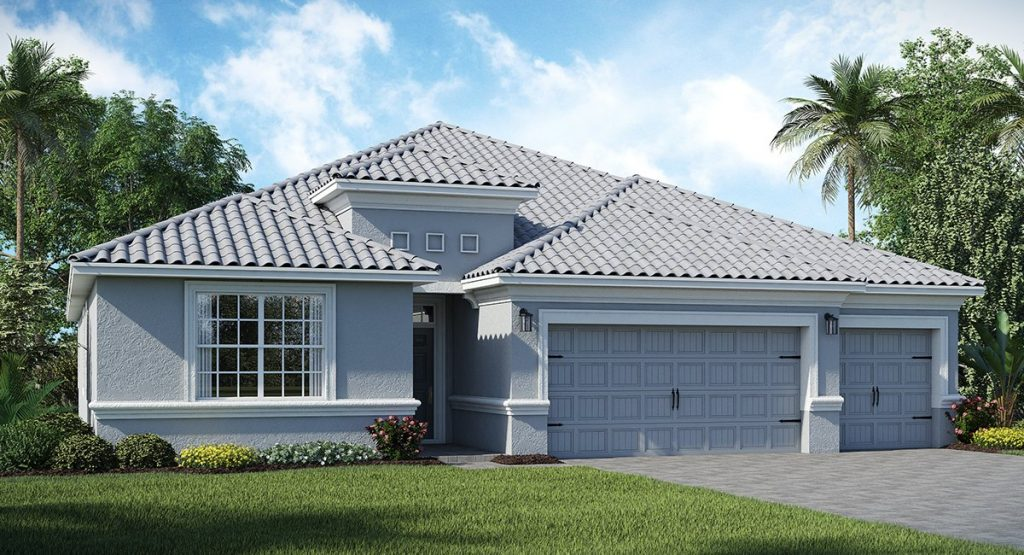 Newcastle Floor Plan in the Country Club at ChampionsGate Orlando