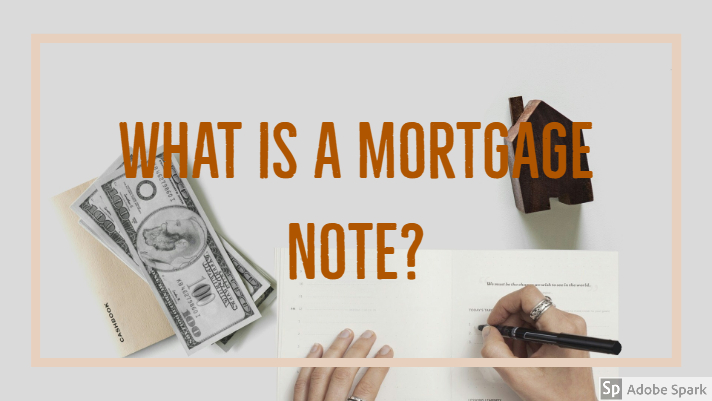 what does a mortgage note look like