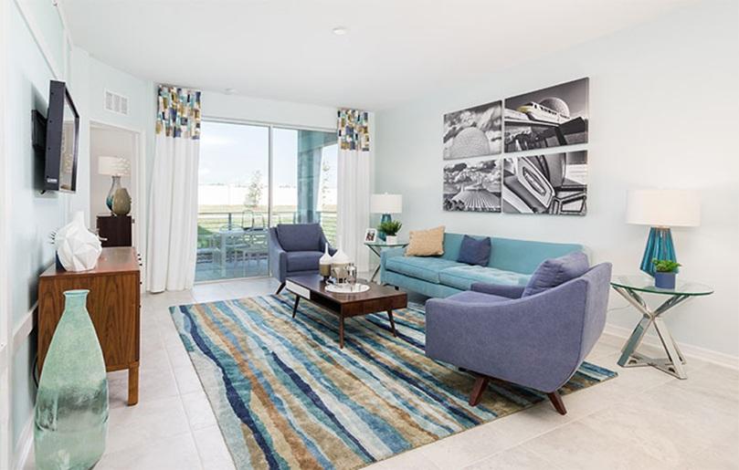 Sorrento Living Room - Storey Lake, Kissimmee