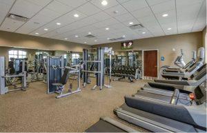 Gym at Windsor at Westside