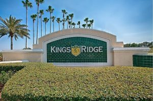 Kings Ridge 55 plus retirement community Entrance