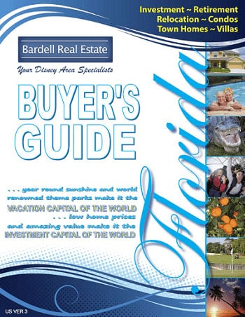 Downloadable Buyers Guide for people interested in vacation homes for sale in Orlando FL