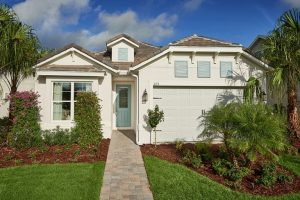 2 story home in Orlando with attached garage.