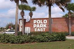 Polo Park East - a 55 plus senior Community Sign