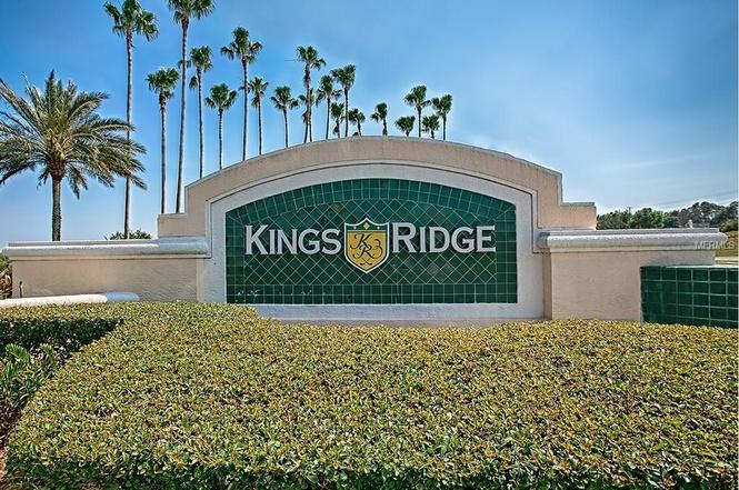 Kings Ridge Entrance sign