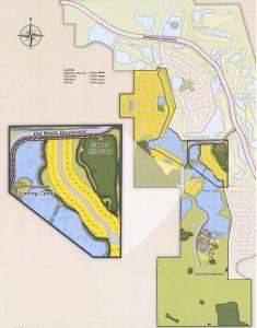Site Map for Del Webb Orlando 55 plus community