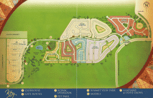Heritage Hills Site map