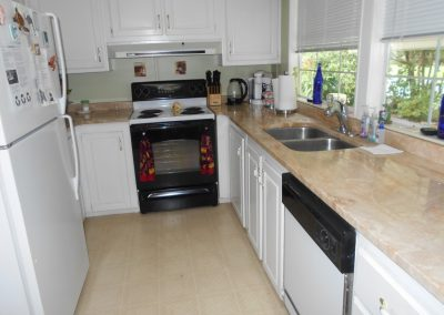 516 Tivoli Park Dr - Kitchen overlooking Golf Course