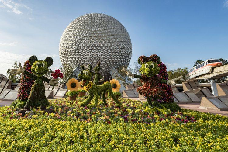 Disney Flower Garden Festival