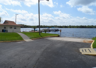 Dock Slip to Lake Davenport