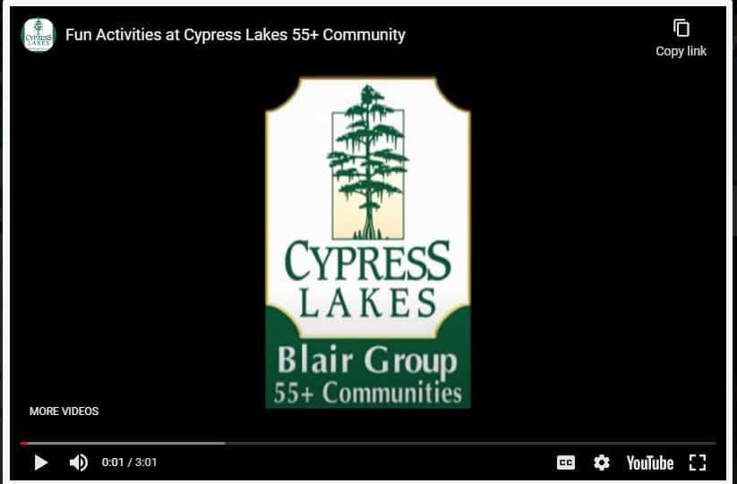 Cypress Lakes-Resort-Style 55+ Community