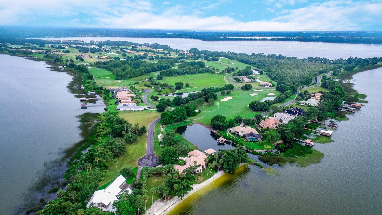 View of Deer Island Florida