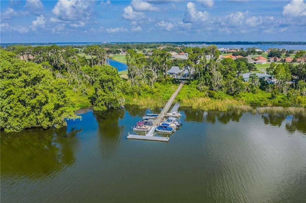 Deer Island Florida Dock