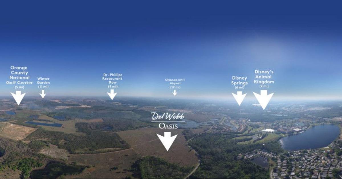 Del Web drone view