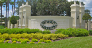 Summit Greens entrance