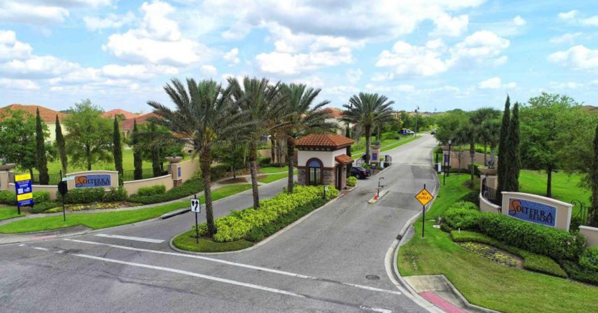Solterra Resort Entrance